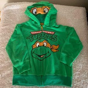Other - Teenage Mutant Ninja Turtles hooded sweatshirt